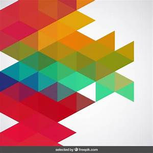 Colored abstract geometric backdrop Vector | Free Download