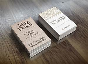 Writers content developers business card examples for Business card ideas 2014