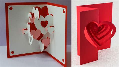 valentine pop  cards  printing museum