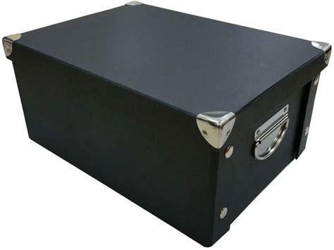 vente bureau boite 15x24x33 cm 2 coloris noir vente de boîte de