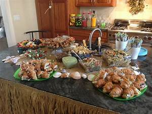 beach bridal shower food table wedding pinterest With wedding shower foods