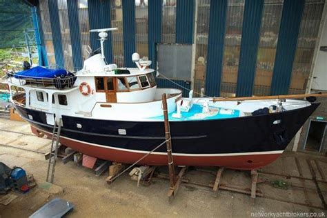 Motor Boats For Sale In Scotland by De Vries Steel Trawler Yacht 1969 Yacht Boat For Sale In