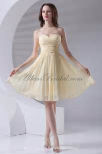 knee length wedding dresses allens bridal chiffon sweetheart a line knee length cocktail dress