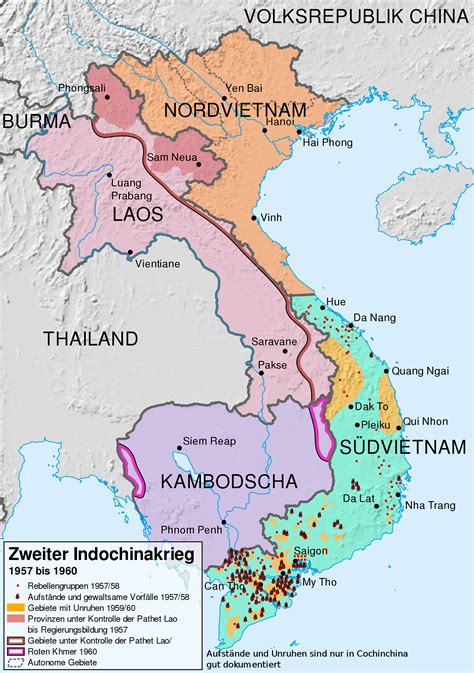 vietnam ethnic map
