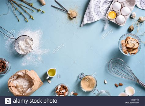 cooking background baking or cooking background frame ingredients kitchen