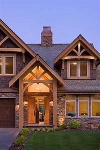 Compact Hybrid Timber Frame Home Design   Photos