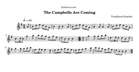 campbells  coming trad scottish  flute