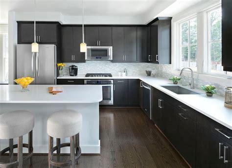 trendy monochromatic black  white kitchens pinoy