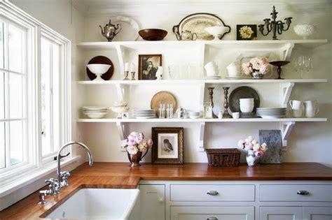 Open Kitchen Shelves Inspiration :  Swoon Worthy Open Shelving