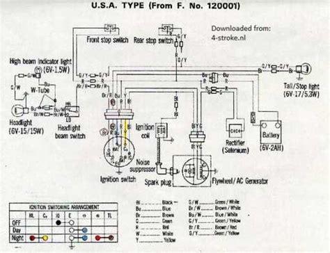1968 honda ct90 wiring diagram somurich
