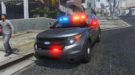 unmarked ford explorer gta mods police car models