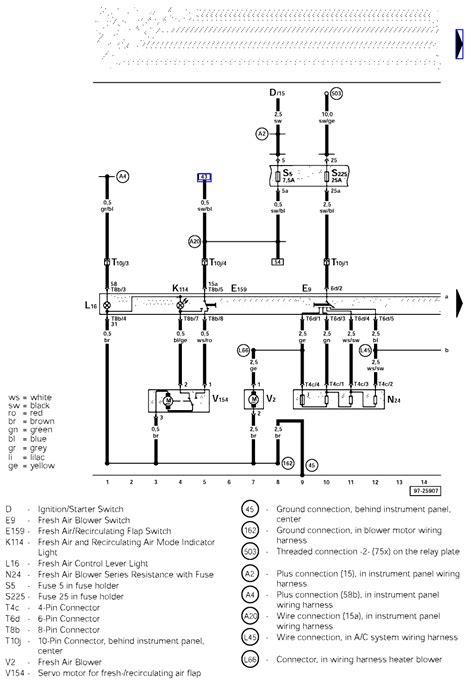 switch wiring diagram 2000 jetta radiator auto electrical wiring diagram