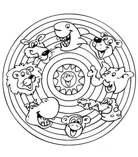 Mandala Kleurplaat Dieren by 20 Best Images About Knutselen On Mandalas