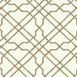Bamboo Trellis Wallpaper in Neutral design by York ...