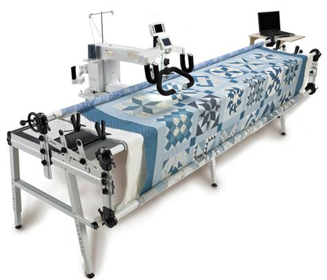arm quilting machines top of the line 18 quot arm w grace majestic frameonly