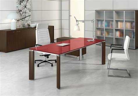bureau verre design contemporain mobilier de bureau mobilier contemporain et design vente