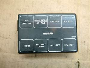 Nissan 240sx S13 Engine Bay Fuse Box Cover 89