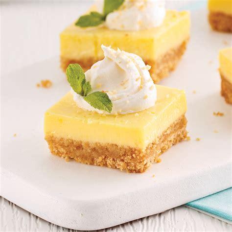 cuisine ricardo com carrés au citron desserts recettes 5 15 recettes