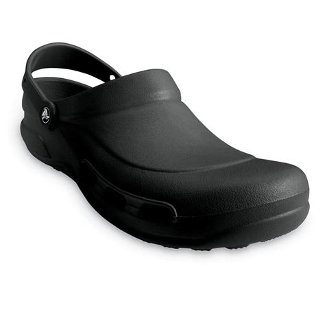 black comfortable work shoes crocs specialist clog vent black light and comfortable