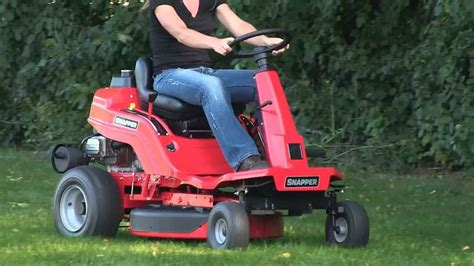 snapper 174 rear engine mower product demo