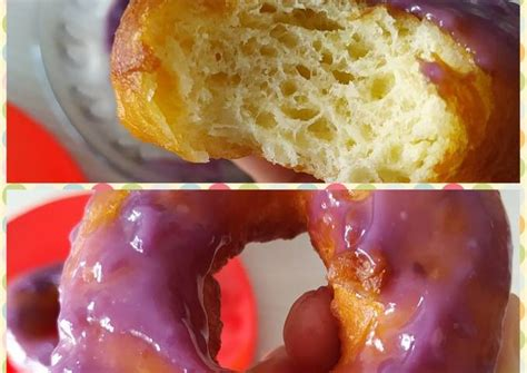 1 sdm kuning telor : Resep Donat kentang selai taro anti gagal oleh Beta ...