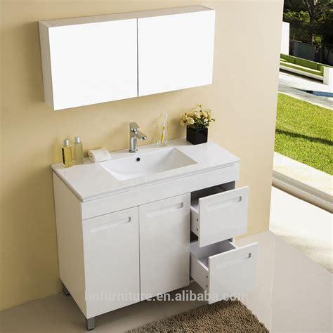Cheap Bathroom Floor Cabinets by Floor Standing 2 Doors 2 Drawers Hanging Plywood