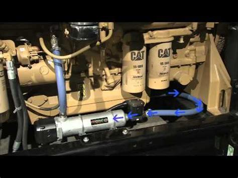 Hotstart engine heater installation - YouTube