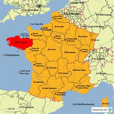 frankreich von lulush landkarte fuer frankreich