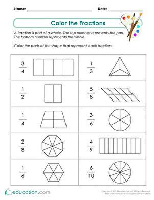 second grade fraction worksheet antihrap com