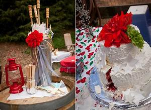 red white blue fourth of july wedding rustic wedding chic With fourth of july wedding ideas