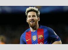 Lionel Messi Barcelona Champions League 2016 Goalcom