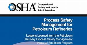 New Psm Guide Published For Petroleum Refiners