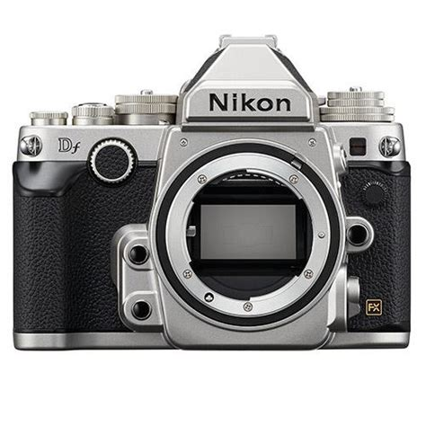 nikon df digital slr silver jessops digital slrs