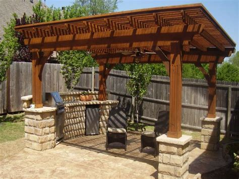 detached wood patio covers simple house awnings shades
