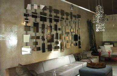 spiegel mosaik deko wandgestaltung mit spiegeln optische raumerweiterung freshouse