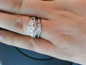 country gals show off your rings weddingbee With country girl wedding rings