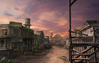 Town Ghost West Wild Wallpapers Background Backgrounds