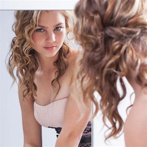 simple hairstyles  curly hair womens thin curly hair