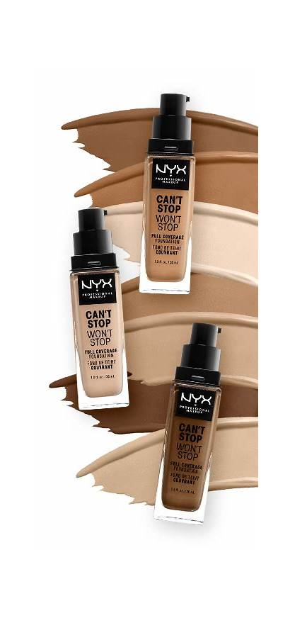 Stop Nyx Foundation Shade Cant Wont Makeup