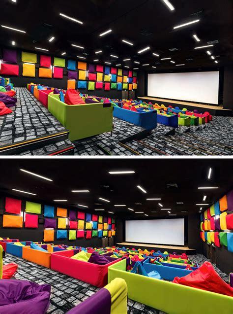 fun colorful cinema  slovakia