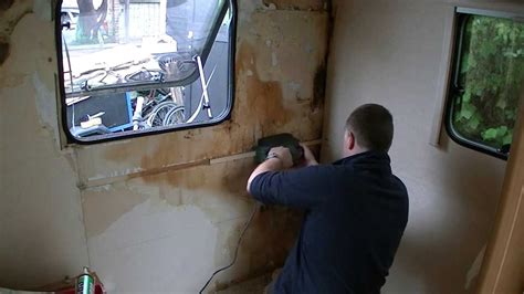 repair  caravan water leak damage part