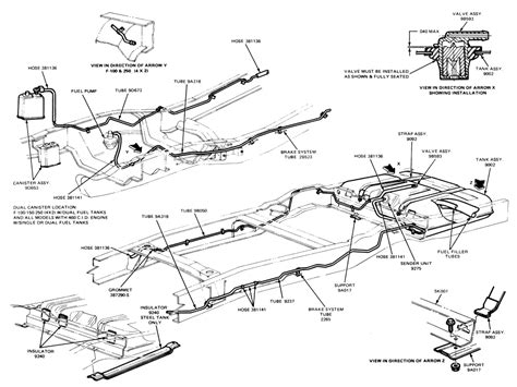 2006 F150 Fuel Line Diagram by Need Help 1986 F 150 Xlt Lariat Ford Truck