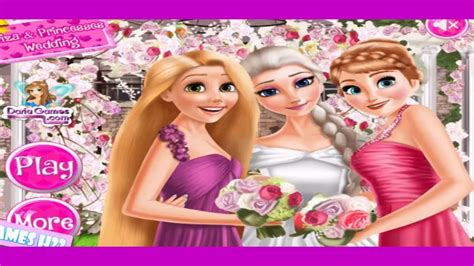 Juegos De Bodas Para Vestir _ Juegos De Princesas Para