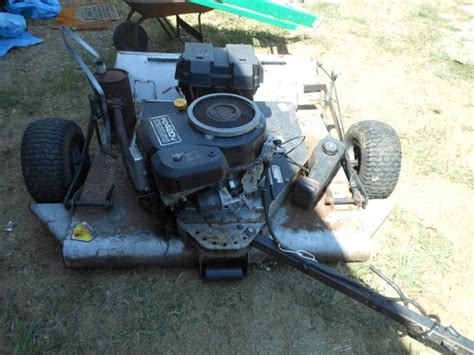 haban 42 in cut pull behind mower deck