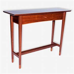 'Classic' Hall Table - Treeton Fine Wood Studio