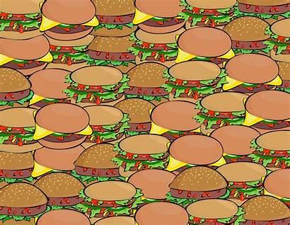 Burger Pattern Wallpapers Hamburger Graphic Comida Chatarra