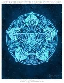 Wiccan Moon Pentacle