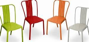 Chaises De Jardin En Soldes : soldes chaises de jardin l 39 univers du jardin ~ Teatrodelosmanantiales.com Idées de Décoration