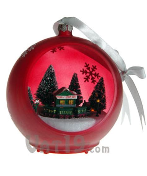 musical sparkling christmas ornament plays 25 christmas carols