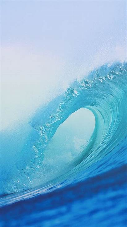 Iphone Ocean Wave Backgrounds Wallpapers Waves Aesthetic